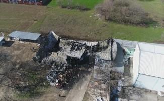 Fabrikadaki yangın dehşeti gün ağırınca ortaya çıktı