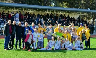 Gaziantep Alg Kadın Futbol Takımı Beşiktaş'ı mağlup etti