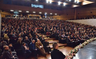 Ibrahim Kalın'a Bursa'da yoğun ilgi