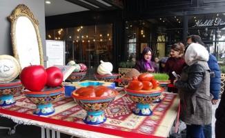 İranlıların 'Heftsin' sofrası Van'da kuruldu