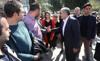 """İSKİ Genel Müdürü Turan: """"Beykoz Deresi'ni peyzajlı olarak ıslah etmek için planlamamızı yaptık"""""""