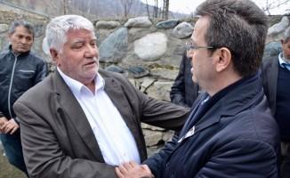 Kore gazisi Tuzluca'da son yolculuğuna uğurlandı