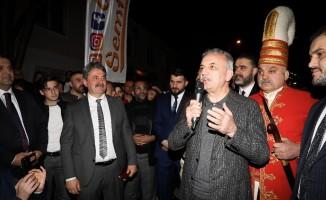 MHP'li gençlerden Cumhur İttifakı'nın adayına sürpriz karşılama