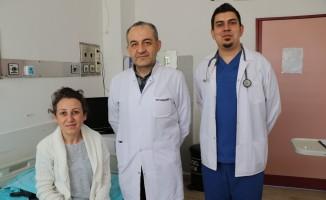 (Özel) Türkiye'de nadir görülen hastalık Zonguldak'ta tedavi ediliyor