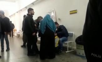 Polisi darp eden tutuklu sanık ilk duruşmada tahliye edildi