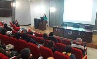 """SAÜ' de """"Multipl Skleroz Hasta Okulu"""" konulu konferans düzenlendi"""