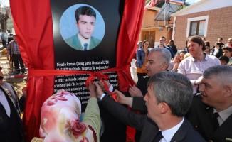 Şehit Mustafa İlter'in ismi ölümsüzleşti