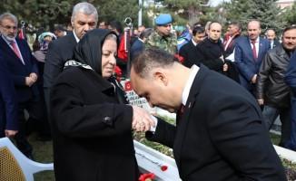 Şehitler Kayseri'de dualarla anıldı