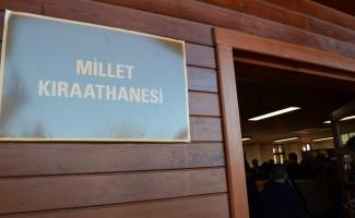 Trabzon'da Millet Kıraathanesi düzenlenen törenle hizmete açıldı