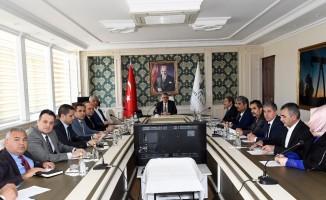 Adıyaman'da İl İstihdam ve Mesleki Eğitim Kurulu toplandı
