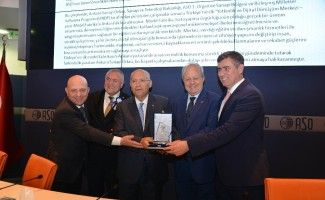 ASO'ya En Verimli Sanayi Odası Ödülü