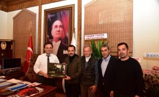Avcılık ve Atıcılık Kulübü'nden Başkan Şahin'e ziyaret