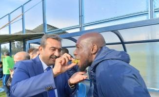 """Başkan Çetin: """"Adana'ya yakışır centilmence ve kardeşçe bir maç olmasını diliyorum"""""""