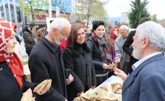 Başkan Köse'den vatandaşlara kandil simidi