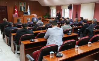 Başkan Kurt'a Türk-İş'ten ziyaret