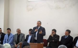 Başkan Yalçın'dan Muhtarlarla Toplantı