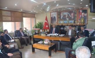 Başkan Yaman'a ziyaretler devam ediyor
