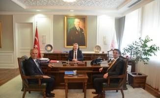 Başkan Yaman'ın Ankara temasları