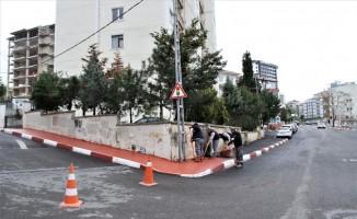 Başkomutan Caddesi üzerindeki çalışmalar devam ediyor