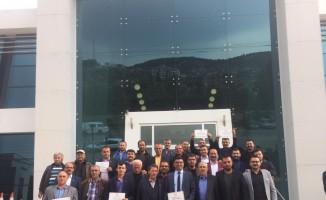 Bucak'ta belde belediye başkanları ve il genel meclis üyeleri mazbatalarını aldı