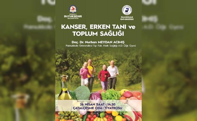 Büyükşehir'den 'Kanser Semineri'ne davet