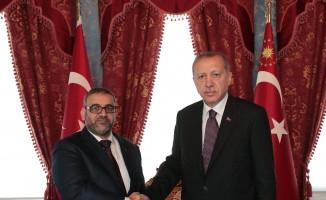 Cumhurbaşkanı Erdoğan ile Libya Yüksek Devlet Konseyi Başkanı El Meşri görüşmesi başladı