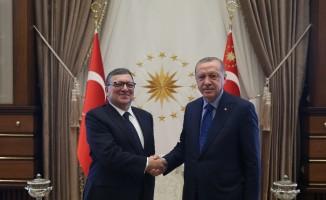 Cumhurbaşkanı Erdoğan, Jose Manuel Barroso'yu kabul etti