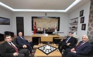 DDY Bölge Müdürü Sivri'den Başkan Zeybek'e ziyaret
