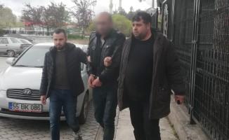 Denetimli serbestlikten yararlanan hırsızlık şüphelisi tutuklandı