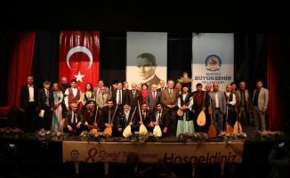 Denizli 8. Uluslararası Ege Aşıklar Bayramı başladı