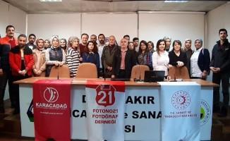 Diyarbakır fotoğraf eğitim günleri devam ediyor