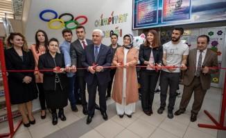 Edremit Mesleki ve Teknik Anadolu Lisesinde 'Olimpiyat Sokağı' açıldı