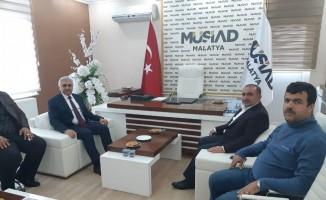 Enmiyet Müdürü Urhal'dan MÜSİAD'a ziyaret