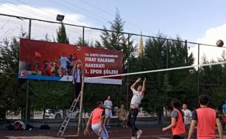 Fırat Kalkanı Harekatı Spor şöleni başladı