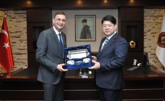 Güney Kore heyetinden GSO'ya Ziyaret