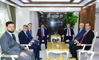 Gürkan'dan Çınar'a hayırlı olsun ziyareti