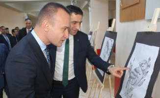 Hamur'da görsel sanatlar atölyesi açıldı