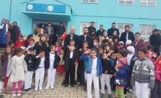 Hukukçular, köy çocuklarını sevindirdi