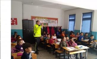 Iğdır'da öğrencilere trafik eğitimi