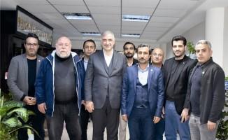 KGY Cemiyetinden Başkan Turanlı'ya hayırlı olsun ziyareti