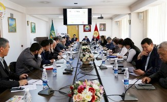 Kırgızistan ve Türkiye Tarım Bakanlıkları temsilcileri Bişkek'te görüştü
