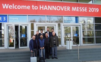 KMTSO, teknoloji fuarı Hannover Messe'ye katıldı