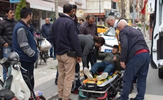 Malatya'da motosikletler çarpıştı: 1 yaralı