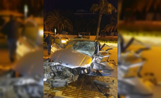 Marmaris kaza: 1 ölü, 2 yaralı