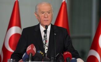 MHP Genel Başkanı Bahçeli'den seçim sistemi önerisi