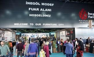 MODEF'in yabancı ziyaretçileri mobilyacıları memnun etti