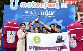 """Öğrenciler """"Temiz Bir Dünya İçin"""" geleceğin projelerini üretti"""