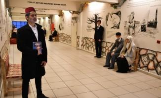 Okul koridorunu 'Edebiyat Sokağı'na çevirdiler