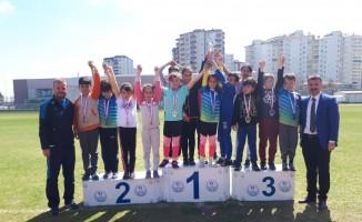 Okullar Arası Çocuklar Atletizm Yarışmaları Tamamlandı