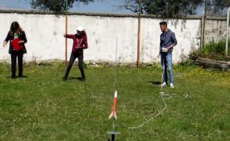 Roketçiler derece için yarıştı